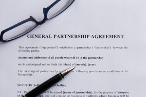 Business Divorce for Bare Bones General Partnership Agreement